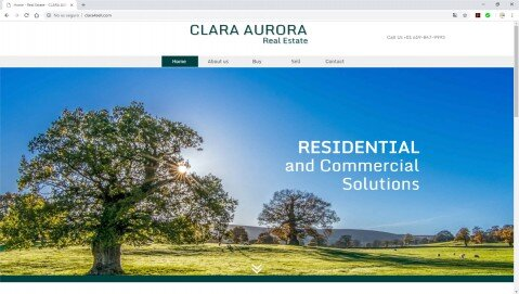 Site Web Clara Aurora Real Estate - clara4sell.com