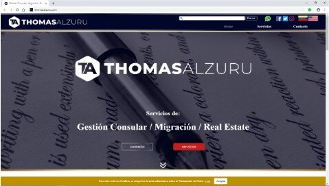 Site Web Thomas Alzuru - thomasalzuru.com