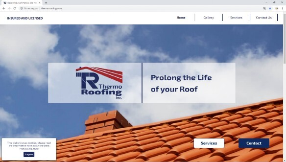 Site Web Thermo Roofing, Inc - thermoroofing.com